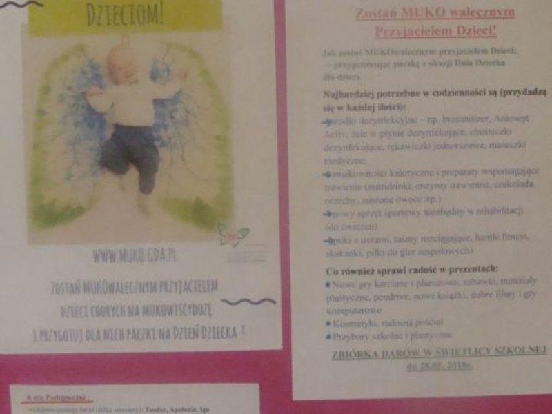 Pomoc Dzieciom – Zostań MUKOwalecznym