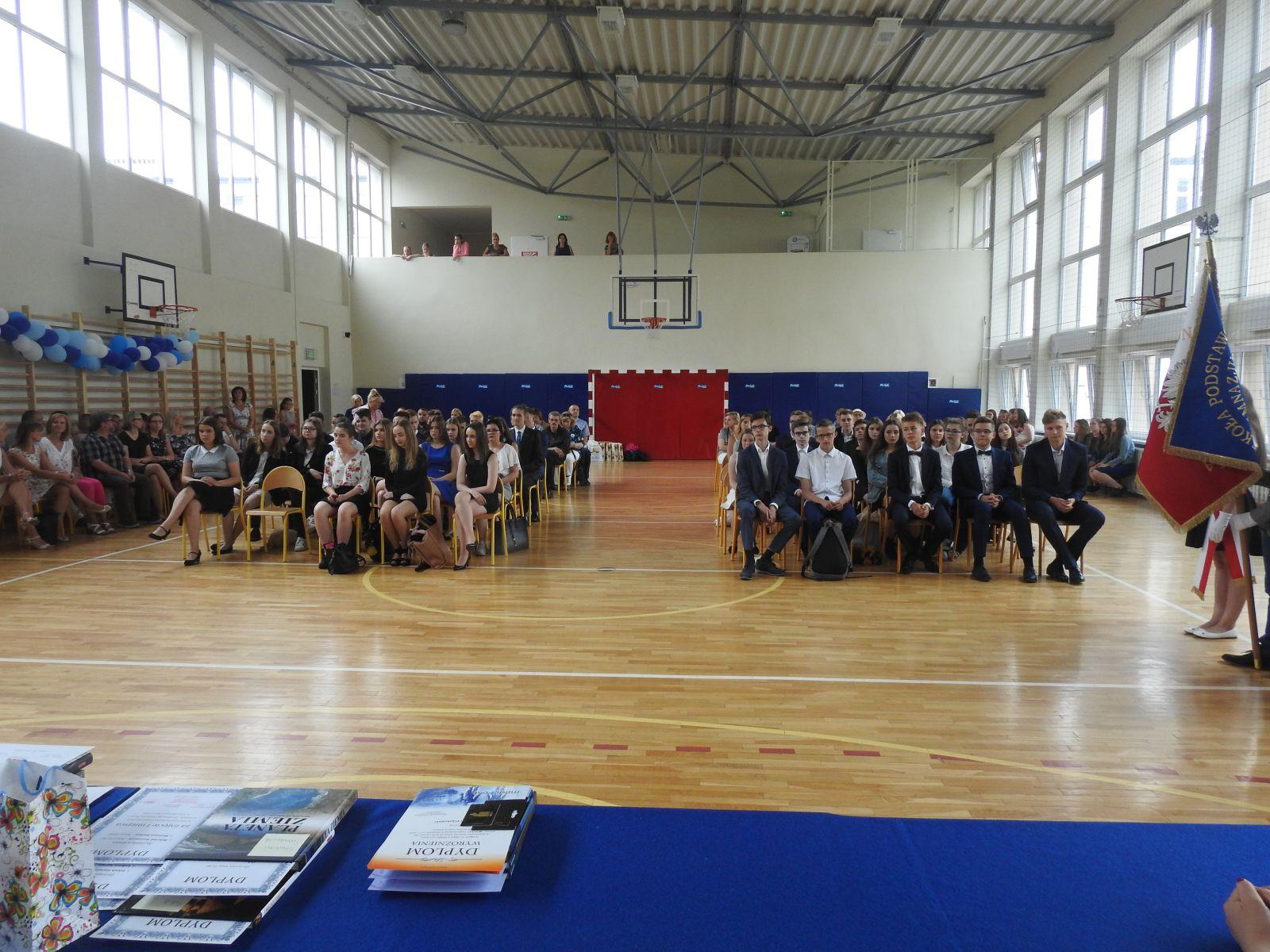 Zakończenie roku szkolnego klas III gimnazjum